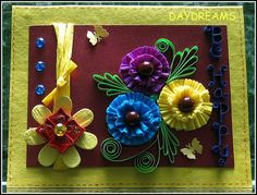 DAYDREAMS: crepe paper rosettes