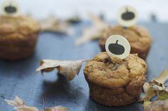 Whole Wheat Chocolate Chip Pumpkin Muffins