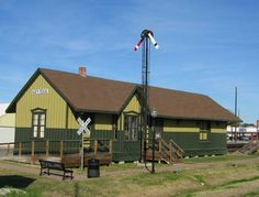 Railroad Depot in Ka