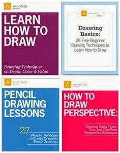 Teach yourself how to draw like an artist with three free, downloadable eBooks and a free how-to video from ArtistDaily.com. Just click through to claim your copies.