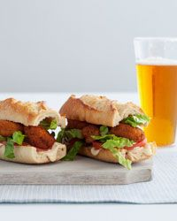 Shrimp Po'Boys Recipe on Food & Wine