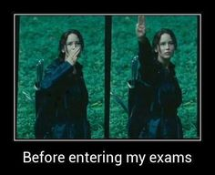 Funny Before entering the exams