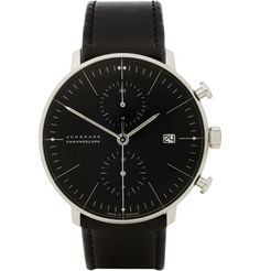 Junghans x Max BillStainless Steel Automatic Chronograph Watch