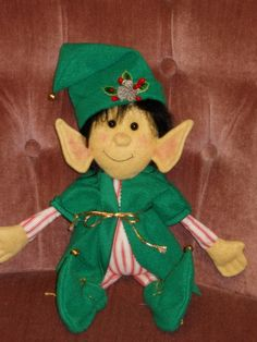 I need to make a new elf doll this Christmas.