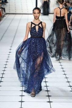 fashion weeks, night skies, blue, dresses, jason wu
