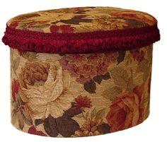 Victorian Hat Box.