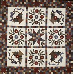 Quilt designer: Kim Diehl  From American Patchwork  & Quilting, February 1999