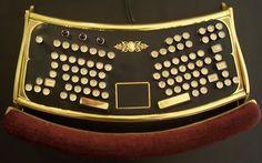 Steam Punk Computer Key Board - so neat!