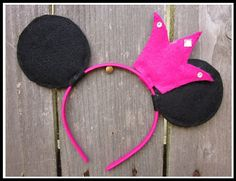 Mickey Ears with Crown