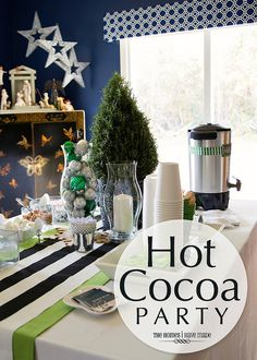 Hot Cocoa Party by TheHomesIHaveMade