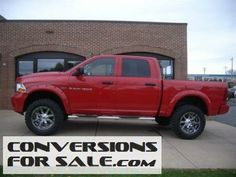 2012 Ram 1500 4WD ST Crew Cab Lifted Truck