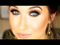 Jaclyn Hill - My Go To Smokey Eye - YouTube. :D