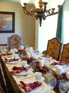 Dressed-Up Basics - 15 Stylish Thanksgiving Table Settings on HGTV