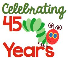 First Grade Blue Skies: The Very Hungry Caterpillar 45th Anniversary Giveaway