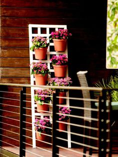 How to Create a Gorgeous Vertical Garden in 5 Easy Steps | At Home - Yahoo Shine