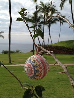 mandala inspir, gorgeous crochet, free pattern, crochet ornaments, crochet christmas