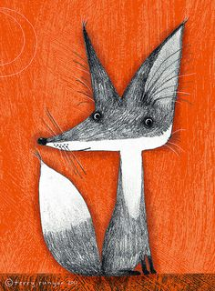 Terry Runyan- cute fellow - the fox that is I've never met Terry ;)