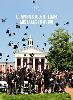Common Student Loan Mistakes to Avoid #theeverygirl