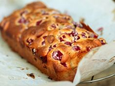 Raspberry Almond Bread