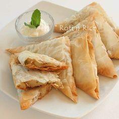 Easy baked Vegetable Samosas using fillo pastry #samosas #easyrecipes #snackrecipes