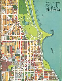 Chicago Department of Development and Planning. Architectural Review v.162 n.968 Oct 1977: cover