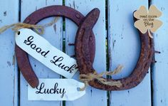 ironwork idea, luck horsesho, horseshoes, board idea, lucki horsesho