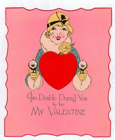 Double Dare valentine