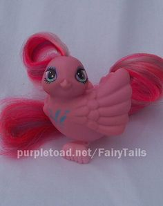 Adorable Fairy Tail Bird toys - I had one of these, a blue one, if I recall correctly. #Fairy_Tail #toys #bird #cute #retro #nostalgia #childhood #1980s #1990s