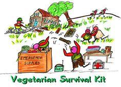 Vegetarian Survival Kit