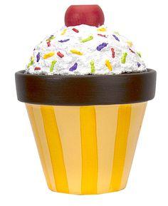 treat pot, paint house, patio paint, cupcak treat