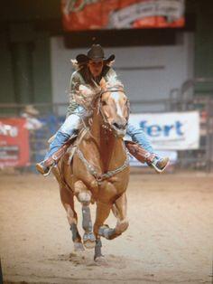 WPRA Barrel Racer Robyn Herring and her stud Firewaterontherocks... Interview.