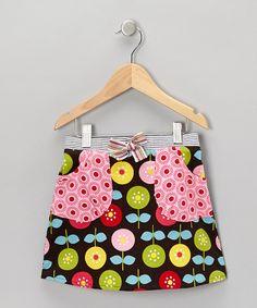 Buckleberry Brown Annika A-Line Skirt - Toddler & Girls
