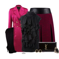Classy with Ruffles, created by kginger on Polyvore