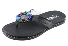 Alegria Diana Black - on closeout for $59! | Alegria Shoe Shop #AlegriaShoes #Spring2014 #Sandals #Closeouts