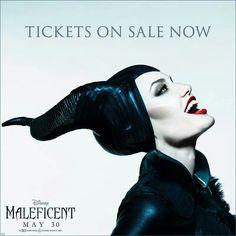 Maleficent! Angelina Jolie