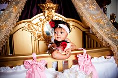 Hyrah overlooks her loyal stuffed animals from the most angelic #crib you've ever seen! #baby