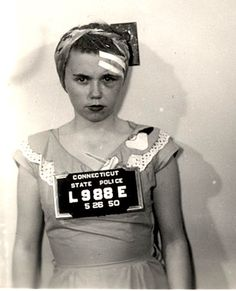 Mug shot,1950