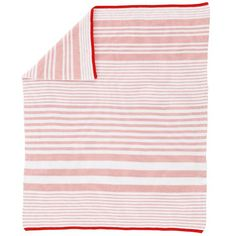 In the Mix Crib Blanket (Pink) in Baby Quilts & Blankets | The Land of Nod