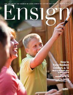 ENSIGN (PDF) - March 2013 (Free Download) church, teach messag, march 2013