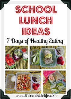 School Lunch Ideas b
