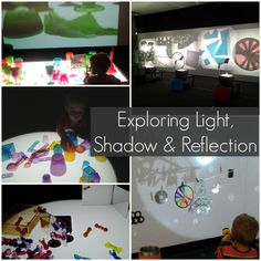 Exploring Light, Shadow and Reflection from Racheous