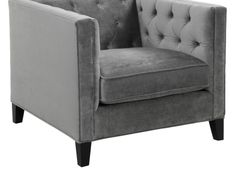 Royce Chair - Charcoal | Chairs | Living-room | Furniture | Z Gallerie