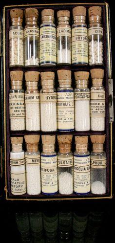 Like with Like: Homeopathy
