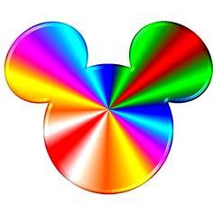 Rainbow Mickey