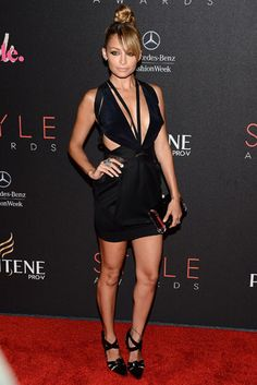 The Best Little Black Dresses of 2012 - Nicole Richie in Anthony Vaccarello