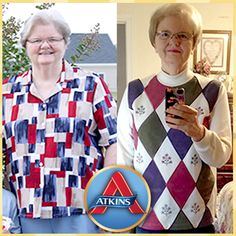 Congratulations to Rose Hampton who not only lost 51 pounds on Atkins but also lowered her BMI, blood pressure and cholesterol! Read her full story here: http://www.atkins.com//Program/Success-Stories/Rose-Hampton.aspx