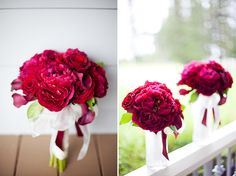 Very demanded and impressive multicolored and fuchsia wedding centerpieces