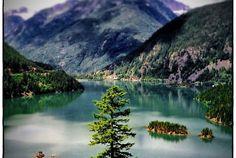 Scenic Drive    Diablo Lake, Rockport, Washington