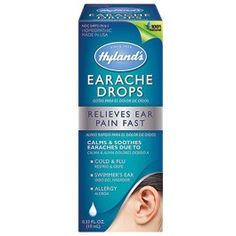 Homeopathic Ear Drops