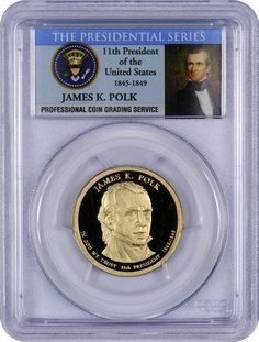 James Knox Polk was the 11th President of the United States from 1845-1849